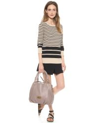 Marc By Marc Jacobs Gray Classic Q Fran Bag - Cement