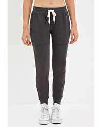Forever 21 | Gray Drawstring Sweatpants | Lyst