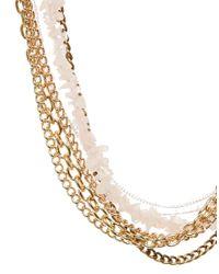Kat&bee Metallic Florence Necklace
