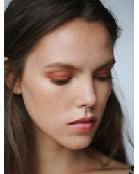 Free People | Metallic Luv Aj X Wolfcub Collaboration Womens Petra Septum Ring | Lyst