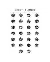 BaubleBar | Metallic Circle Script Monogram Studs | Lyst