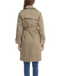 A.P.C. | Natural Vendee Trench Coat | Lyst