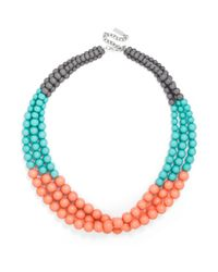 BaubleBar - Blue Beaded Key West Strands - Lyst