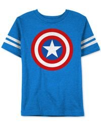 Jem | Blue Captain Sheild T-shirt for Men | Lyst