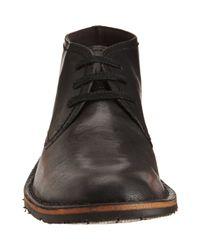 John Varvatos | Black Hipster Chukka Boots for Men | Lyst