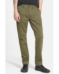 Rag & Bone | Green 'fit 2' Slim Fit Chinos for Men | Lyst