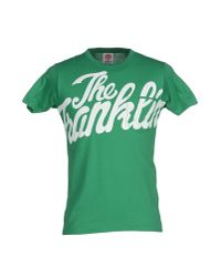 Franklin & Marshall | Green T-shirt for Men | Lyst