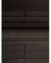 Burberry - Black 'Haymarket Check' Wallet - Lyst