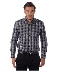 Bertigo - Blue L/s Primo Checkered for Men - Lyst