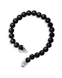 David Yurman   Spiritual Beads Bracelet With Black Onyx   Lyst