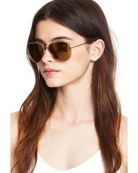 Forever 21 - Metallic Classic Aviator Sunglasses - Lyst