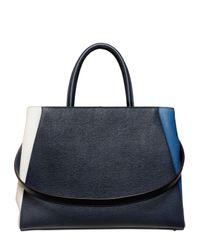Fendi | Blue Medium 2jours Color Blocked Leather Bag | Lyst