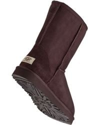 UGG   Classic Short Boot Chocolate Brown   Lyst