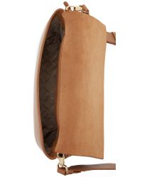 DKNY - Brown Heavy Nappa Cross Body Bag - Lyst