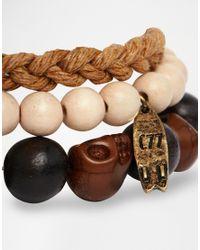 Classics 77 - Black Maori Bracelet Pack for Men - Lyst