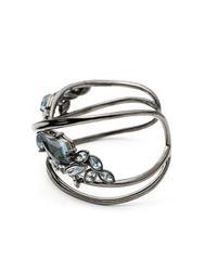 Alexis Bittar | Metallic Liquid Crystal Open Cuff Bracelet | Lyst