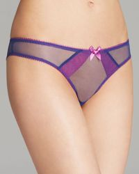 L'Agent by Agent Provocateur Purple Bikini Ceri Mini