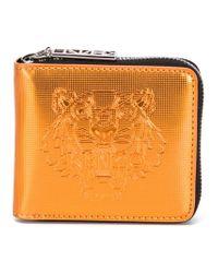 KENZO | Orange 'tiger' Wallet | Lyst