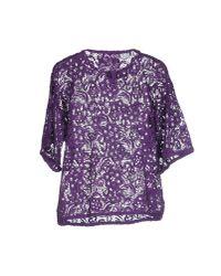 Gaëlle Bonheur | Purple Blouse | Lyst