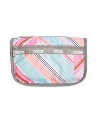 LeSportsac Multicolor Printed Travel Cosmetic Bag