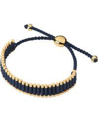 Links of London | Blue Yellow-gold Friendship Bracelet | Lyst