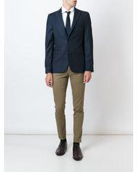 PT01 - Natural Slim Fit Trousers for Men - Lyst