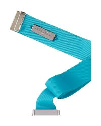 Max Mara - Blue Samba Statement Necklace With Tie - Lyst