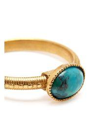 Ela Stone | Blue Simone Stone Ring | Lyst
