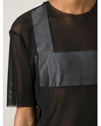 Phoebe English   Black Simple T-Shirt Dress   Lyst