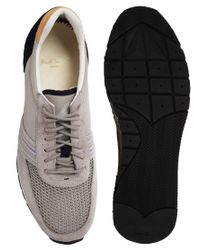 Paul Smith Gray Moogg Trainers for men