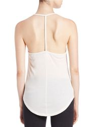 Free People White Kendall Halter Top