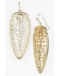 Kendra Scott | Metallic 'glam Rocks - Sadie' Drop Earrings | Lyst