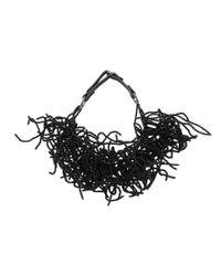 Brunello Cucinelli - Black Beaded Seaweed Choker Necklace for Men - Lyst