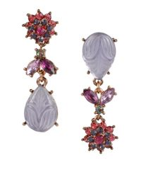 Betsey Johnson | Multicolor Fall Follies Drop Earrings | Lyst