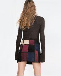 Zara | Black Crew Neck Sweater | Lyst