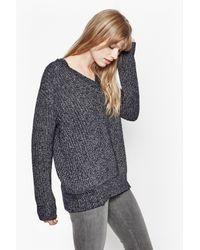 French Connection | Blue Verdi Cotton Knit | Lyst