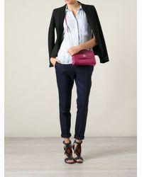 Vivienne Westwood Orange Patent Cross Body Bag
