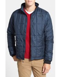 The North Face | Blue 'olos' Insulated Quilted Jacket for Men | Lyst