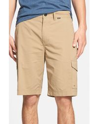 Hurley | Natural Dri-fit Cargo Shorts for Men | Lyst