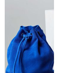 Silence + Noise - Blue Carmen Suede Mini Backpack - Lyst