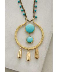 Lena Bernard | Blue Sonali Turquoise Pendant Necklace | Lyst