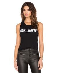 Private Party - Black Nah Maste Tank - Lyst