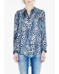 M.i.h Jeans - Blue The Petal Shirt - Lyst