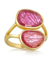 Pippa Small | Purple 18-Karat Gold Ruby Ring | Lyst