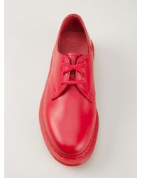 Dr. Martens - Red '1461' Lace-Up Shoes - Lyst