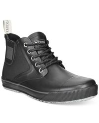 Tretorn | Black Men's Gunnar Canvas Waterproof Boots for Men | Lyst