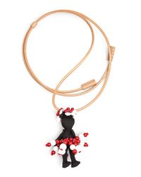 Marni Pink Doll Rope Necklace