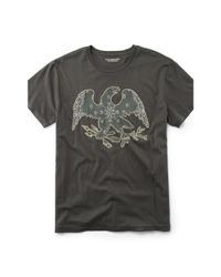 Denim & Supply Ralph Lauren | Black Eagle-appliqué Cotton Tee for Men | Lyst