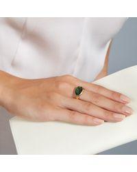 Pippa Small - Green Tourmaline Greek Ring - Lyst