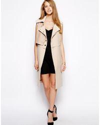 Three Floor Natural Repertoire Sleeveless Jacket